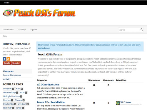 Peach OSI Vanilla Forum